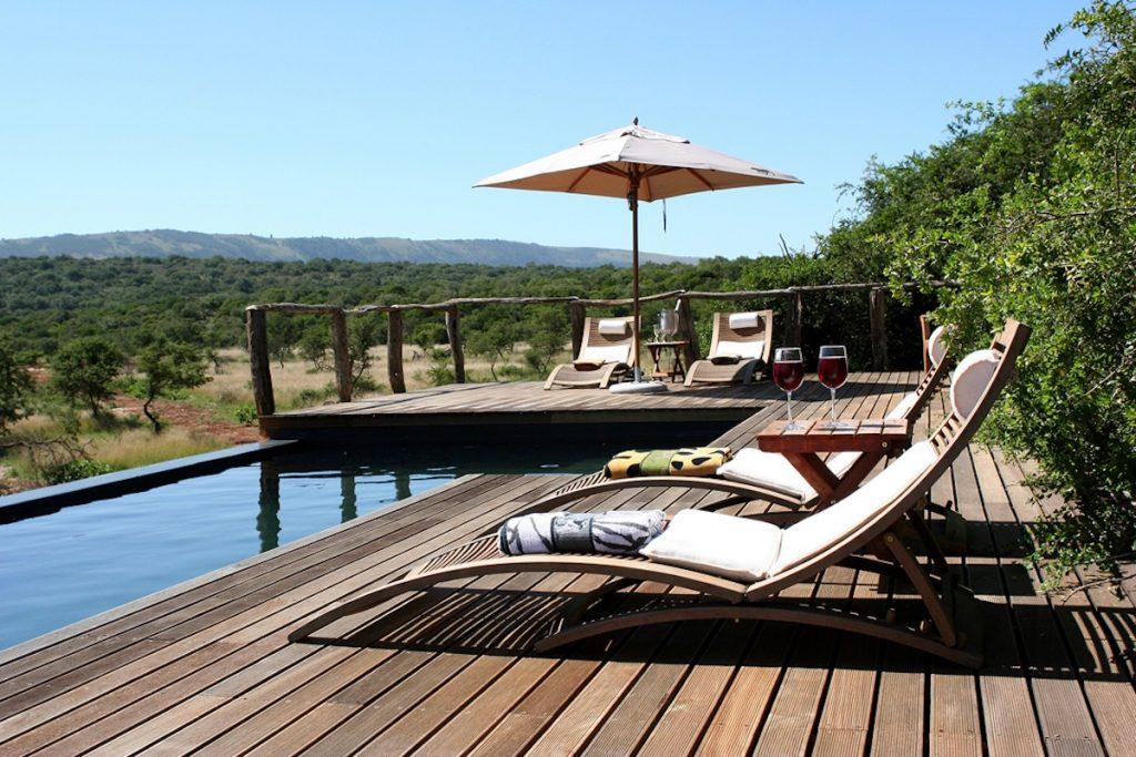 Pumba Msenge Bush Lodge Swimming Pool