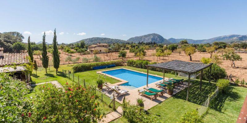 Villa La Felucca Pool Deck