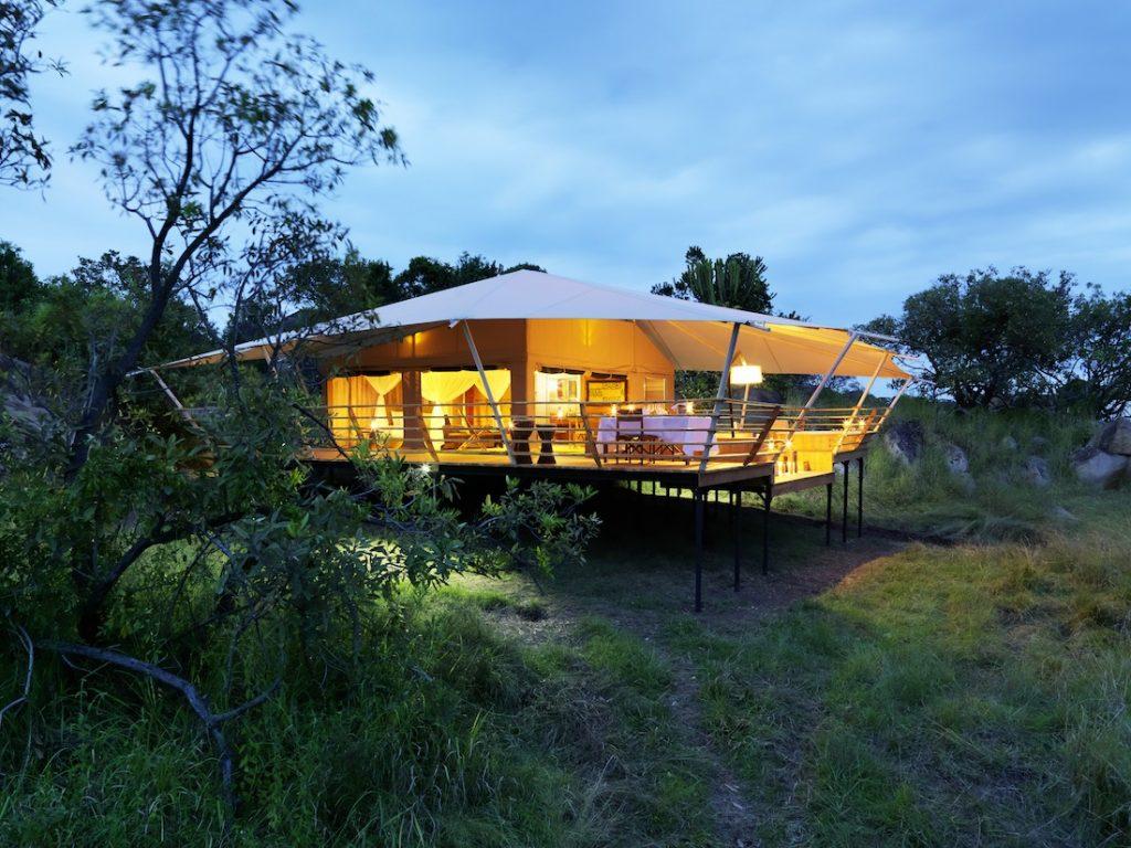 Serengeti Bushtops Camp Private Tent