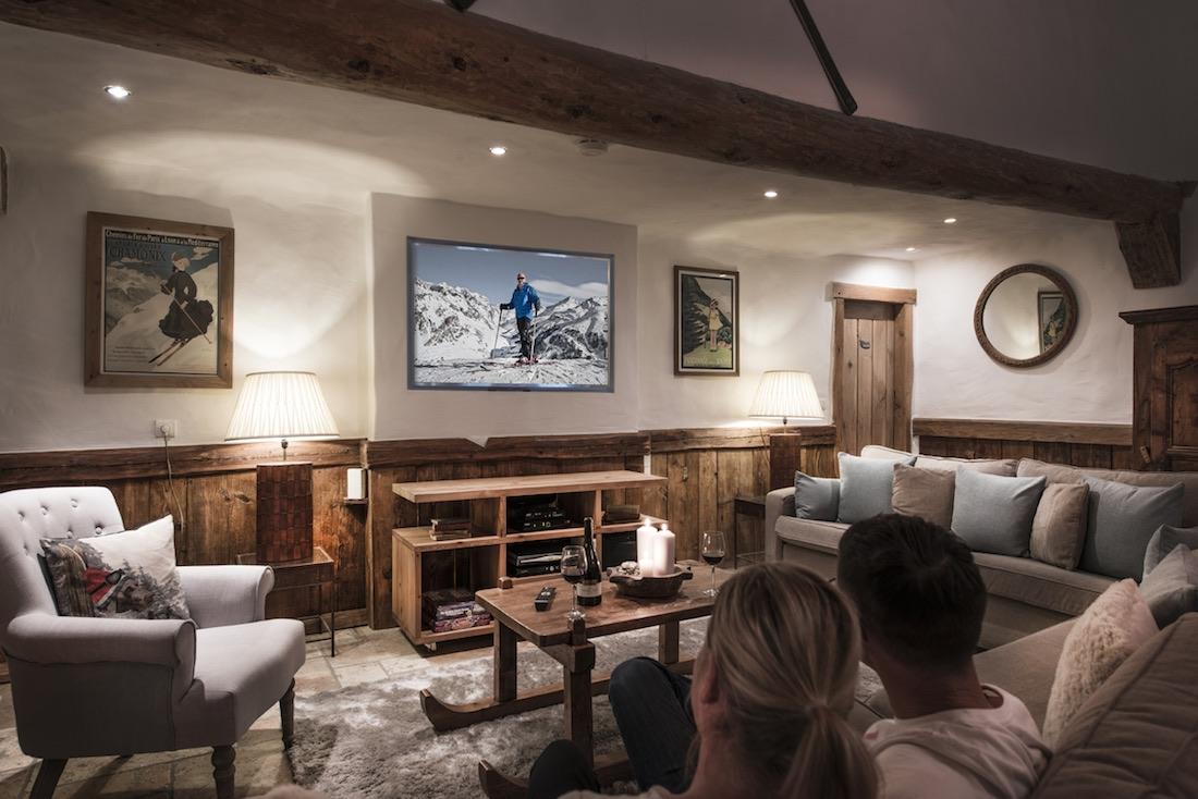 Chalet Mistral TV Room