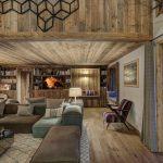 Chalet Bergeronnette Living Room