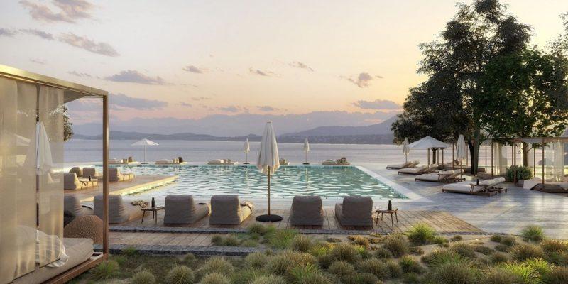 Domes of Corfu Swimming Pool
